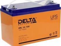 Аккумулятор Delta HRL 12-100 100 а/ч
