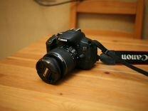 Фотоаппарат Canon 650D kit 18-55 is II