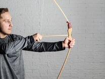 Лук + колчан со стрелами