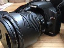 Фотоаппарат canon 500d kit + sigma 18-70 + вспышка