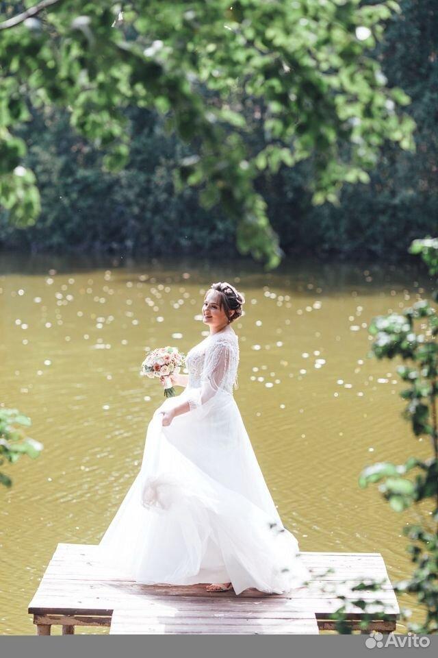 Платье свадебное 48-50 размер  89204772286 купить 7