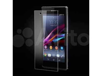 Защитное стекло для Sony D2303 M2 0.33мм adpo пакет