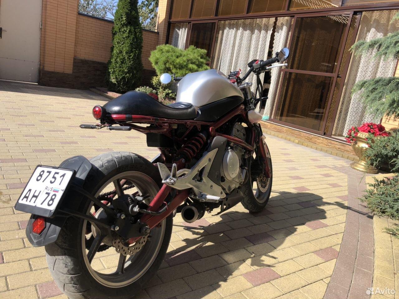 Kawasaki er6-n 2006г