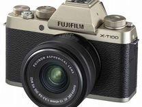 Новый Fujifilm X-T100 kit 15-45