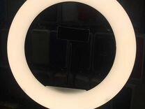 Кольцевая лампа 32см с пультом д/у