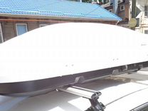 Бокс на крышу Hyundai Solaris 1+монтаж