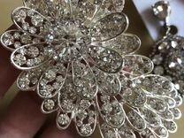 Свадебные аксессуары, серьги, гребень в волосы, ко — Одежда, обувь, аксессуары в Санкт-Петербурге