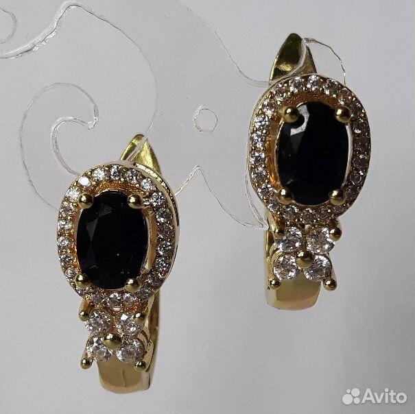 Серьги с драгоценными камнями  89112231871 купить 5