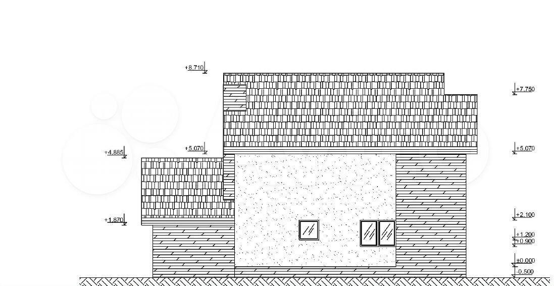 Дом 188 м² на участке 10 сот.  89095718016 купить 4
