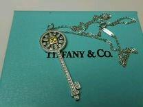 Tiffany кулон ключ с желтым