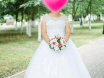 Свадебное платье — Одежда, обувь, аксессуары в Великовечном