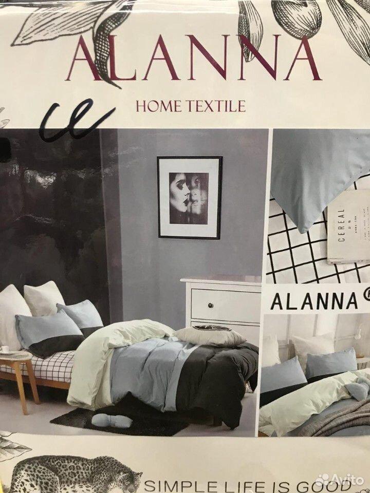 Семейный комплект постельного белья, Сатин  89630122262 купить 9