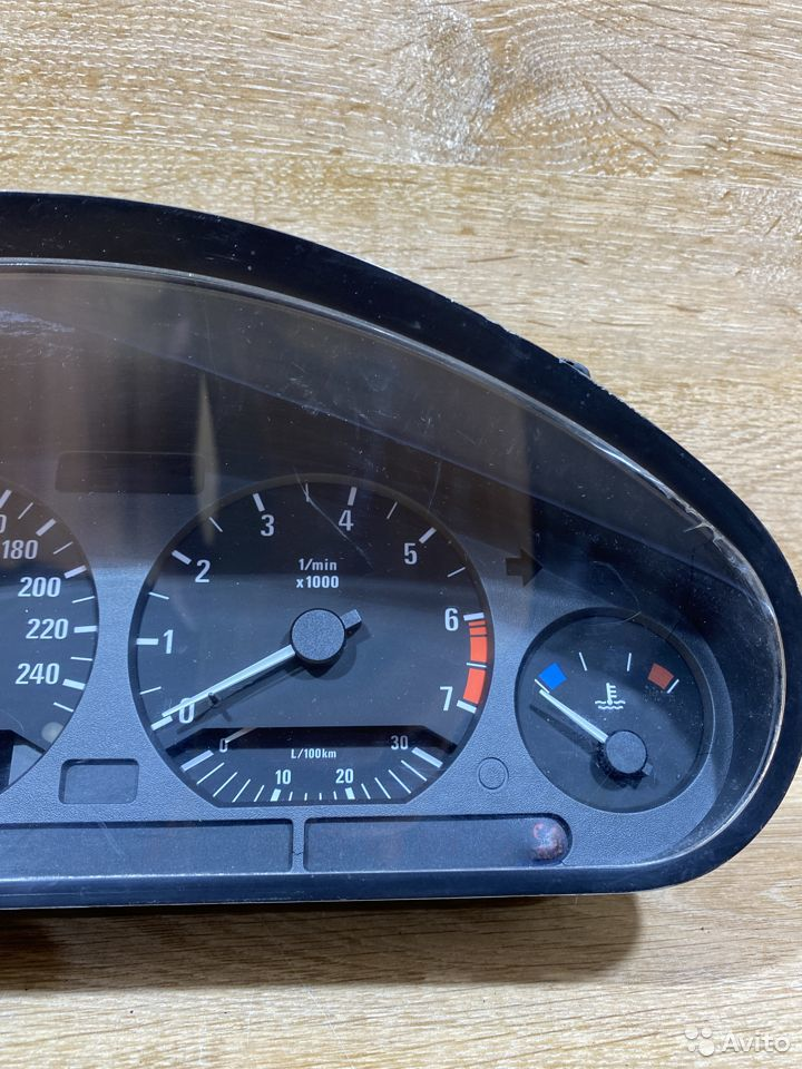 Панель приборов BMW E36 бензин 772098  89534684247 купить 3