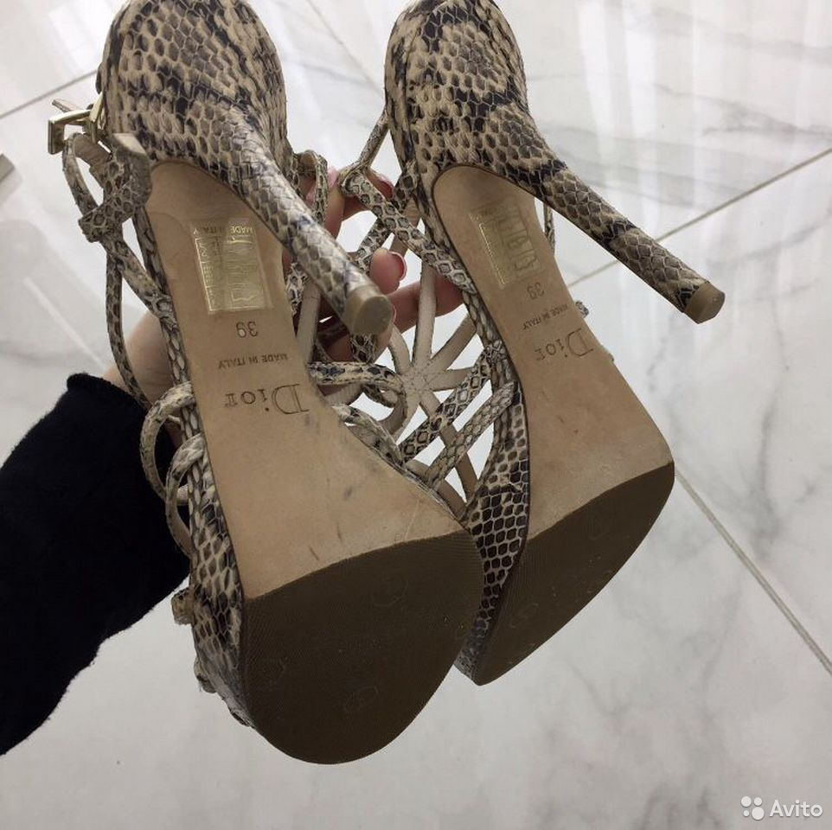 Босоножки Dior, оригинал  89283405383 купить 4